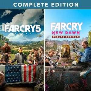 Far Cry 5 + Far Cry New Dawn Complete Edition sur PS4 (Dématérialisés)