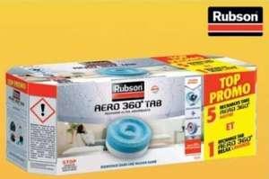 6 Recharges Rubson Aéro 360° pour déshumidificateur - 5 neutres et 1 lavande (Via 11,83 € sur la carte fidélité)
