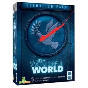 Extension jeu de société It's A Wonderful World - Guerre Ou Paix (ludum.fr)