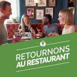 [Retournons au Restaurant] 50% de réduction sur tous les plats à la carte dans une large sélection de restaurants