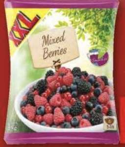 Sachet de fruits rouges surgelés XXL - différents mélanges, 750 g ou 1 kg