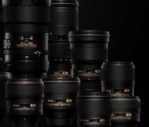 10% de réduction sur toutes les optiques Nikon Monture F