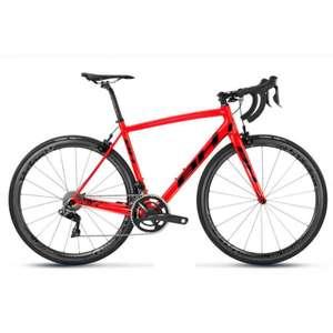 Vélo de route BH Ultralight Carbone Shimano Ultégra 8000 11V - Rouge flash (stockovelo.fr)