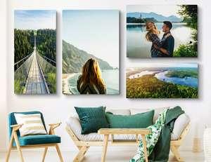 Sélection de photos sur toiles personnalisées à 24€ - Ex : taille 120x80 cm