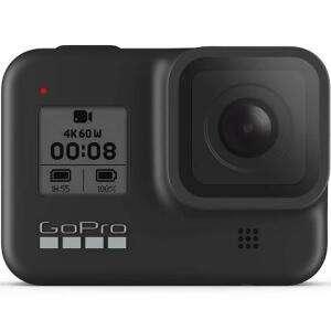 Pack caméra sportive GoPro Hero8 Black + Abonnement 1 an au GoPro Cloud + Carte microSDXC SanDisk Extreme (32 Go)