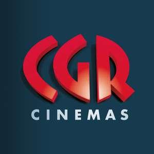 [Carte CGR] Place de Cinéma Standard à 5€ (sur une sélection de films & dans les cinémas participants)