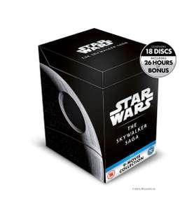 Coffret 18 Blu-ray Star Wars La Saga Skywalker (Frais de port inclus)
