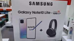 [Cartes Costco] Samsung Galaxy Note 10 Lite - 8 Go de RAM, 128 Go + Casque sans-fil JBL Tune 500BT - Bluetooth (Villebon-sur-Yvette 91)