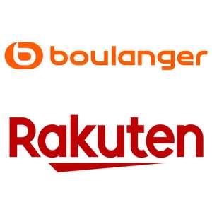 Jusqu'à 25% offerts en Rakuten Points sur la boutique Boulanger