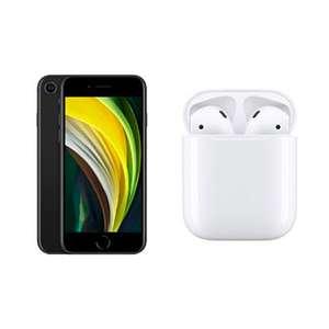"Smartphone 4.7"" Apple iPhone SE 64 Go + Apple Airpod 2 avec boîtier de charge"