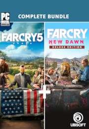 Far Cry 5 + Far Cry New Dawn Deluxe Edition Sur PC (Dématérialisé - Uplay)
