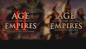 Bundle Age of Empires Definitive Edition + Age of Empires II Definitive Edition sur PC (Dématérialisé - Steam)