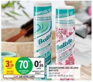 Shampooing Sec Blush Batiste (Variétés au choix) - 200ml (Via 2,24€ sur Carte de Fidélité)