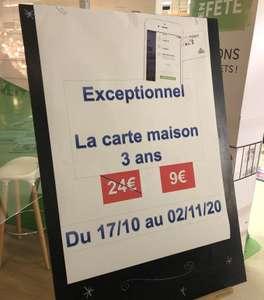 Carte Leroy Merlin à 9€ pour 3 ans - Sainte-Geneviève-des-Bois (91)