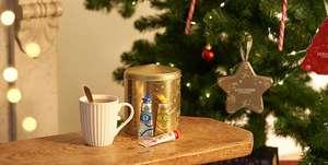 Boîte dorée avec 3 crèmes mains (3x10 ml) offerte dès 15€ d'achat