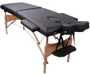 Table de massage pliante transportable Yoghi - Colori Noir ou blanc