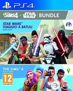 Les Sims 4 + Extension Star Wars: Voyage sur Batuu sur PS4, Xbox One ou PC