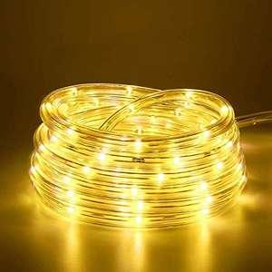 Guirlande lumineuse d'extérieur à LED - 100 LED, télécommande, 8 modes, 10m