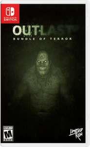 Sélection de jeux Nintendo Switch pour Halloween en promotion (Dématérialisés) - Ex : Outlast Bundle of Terror