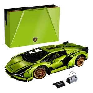 Jeu de construction Lego Technic - Lamborghini Sián FKP 37 42115 (Frontaliers Belgique)