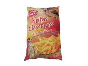 Sachet de frites classiques - 2.5 kg