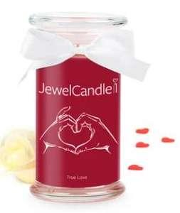 10% de réduction supplémentaires sur une sélection de bougies Jewel Candle en promotion - Ex : True Love Bague
