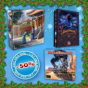 Sélection de Lots de Jeux de société Atalia en promotion - Exemple : Pack Gamer Gugong + Halloween + SteamRollers (atalia-jeux.com)