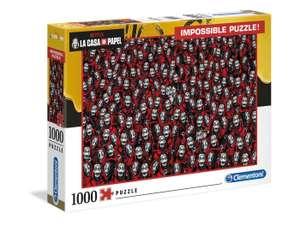 Puzzle Clementoni - La casa de papel (borntobekids.fr)