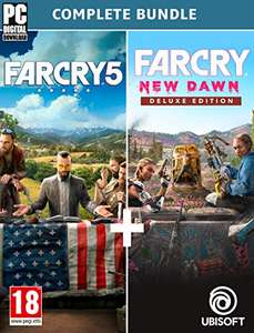 Far Cry New Dawn + Far Cry 5 - Complete Edition sur PC (Dématérialisé - UPlay)