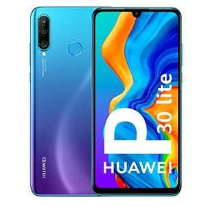 """Smartphone 6.15"""" Huawei P30 Lite - 128 Go ROM, Bleu (vendeur tiers)"""