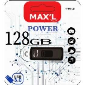 Clé USB Maxell MAX L - 128 Go, USB 3.0, Noir