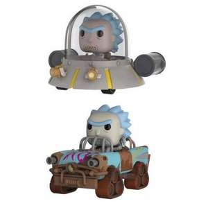 Lot de 2 figurines Pop XL - Rick Mad Max & Rick Vaisseau