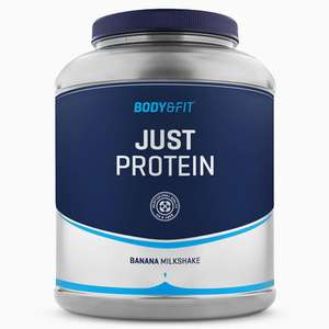 Pot de Whey Protéines en poudre Just Protein - 2 kg (saveur au choix)