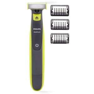 Rasoir Electrique Philips OneBlade QP2520/20 avec 3 sabots clipsables