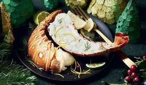 Queues langouste blanche crues - Caraïbes, 3 à 4 pièces (800g)