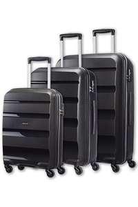 Set de 3 valises American Tourister Bon Air - 55, 66 et 75 cm, noir