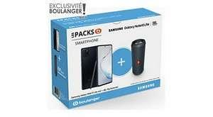 """Pack smartphone 6.7"""" Samsung Galaxy Note 10 Lite (full HD+, Exynos 9810, 6 Go de RAM, 128 Go) + enceinte Bluetooth JBL Flip Essential"""