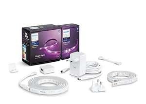 Kit Philips Hue Lightstrip Plus - Bande LED (2m) + extension (1m)