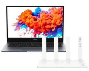 "PC Portable 14"" Honor MagicBook 14 - Ryzen 5 3500U, RAM 8 Go, SSD 256 Go + Routeur Honor 3 (+ 82.35€ en Rakuten Points) - Boulanger"