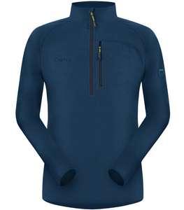 Sweat polaire Cimalp Amélie 3H 1/2 zippé chaud Thermofleece 200 - Bleu marine