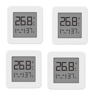 Lot de 4 Capteurs de température et d'humidité Xiaomi Mijia V2 - Bluetooth