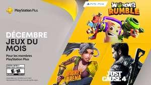 [PS+] Worms Rumble, Rocket Arena et Just cause 4 offerts sur PS4 et PS5 (Dématérialisés)