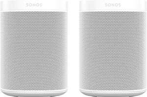Paire d'enceintes Sonos One SL + One