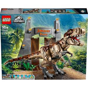 Jouet Lego Jurassic World - Jurassic Park : le carnage du T. rex (75936)