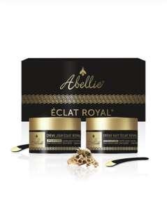 Coffret de soin Abellie Éclat Royal - crème de jour + crème de nuit