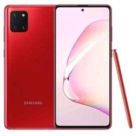 "Smartphone 6.7"" Samsung Galaxy Note 10 Lite - Full HD+, 8 Go de RAM, 128 Go, Noir (384€ avec le code RAkuten15 + 99€ en Rakuten points)"