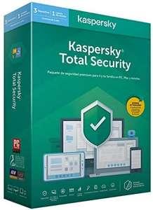 Abonnement de 1 An à Kaspersky Total Security - 1 Poste