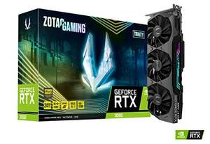 Carte graphique Zotac Gaming GeForce RTX 3090 Trinity - 24 Go + Call of Duty: Black Ops Cold War offert