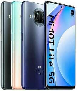 """Smartphone 6.67"""" Xiaomi Mi 10T Lite 5G - 64 Go (Gris, Bleu ou Rose Dorée)"""