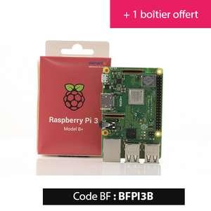 Raspberry Pi 3 Modèle B+ (1 Go) + boitier
